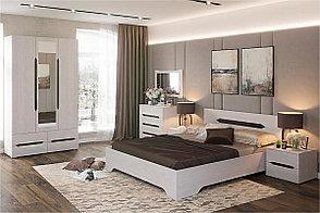 Кровать двуспальная, коллекции Валенсия, Анкор Анкор светлый, Стендмебель (Россия), фото 3