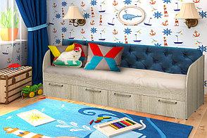 Кровать односпальная Сенди, Дуб Сонома, БТС (Россия), фото 2
