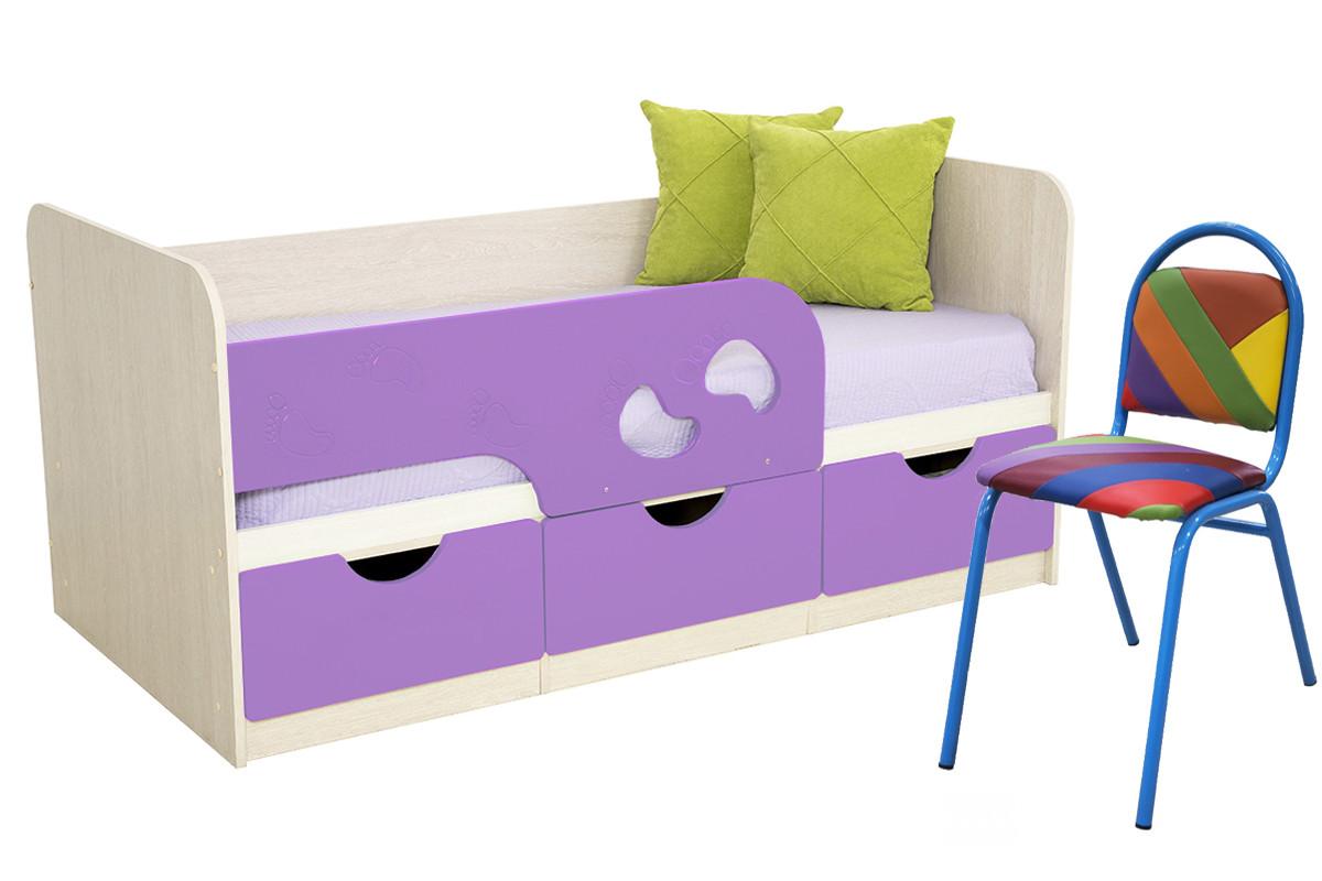 Комплект мебели для детской Минима, Лиловый, БТС(Россия)