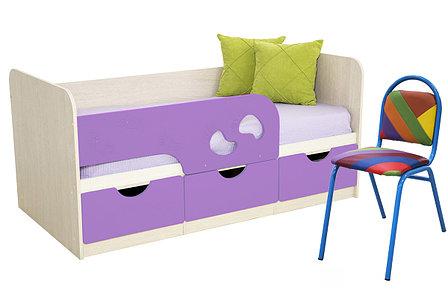 Комплект мебели для детской Минима, Лиловый, БТС(Россия), фото 2