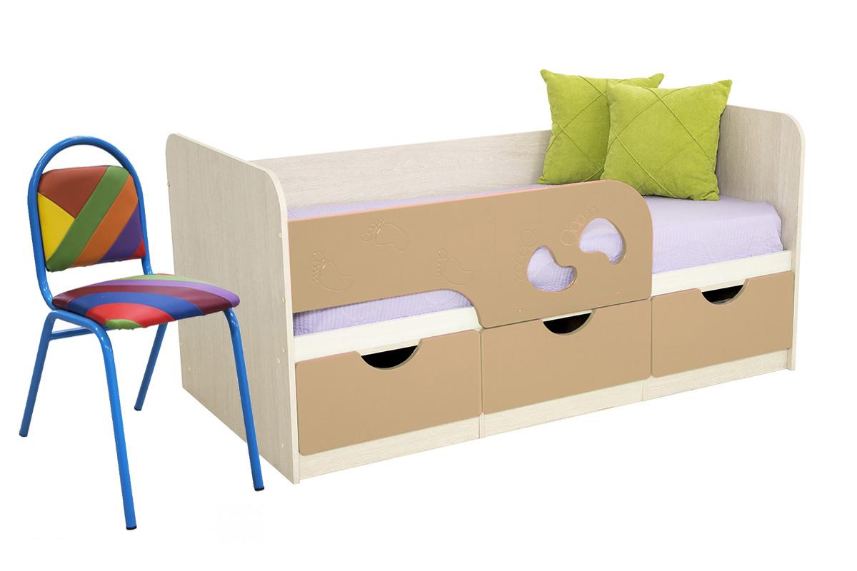 Комплект мебели для детской Минима, Крем, БТС(Россия)