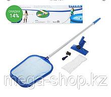 Intex 28002 набор для чистки, сачок, швабра