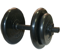 Гентель разборная с обрезиненными дисками Barbell 16,5 кг