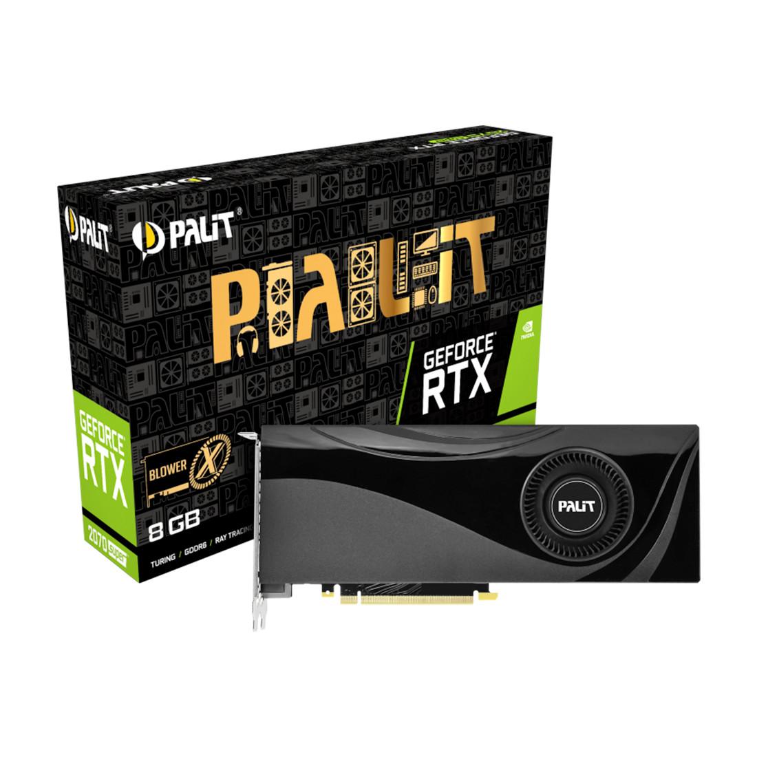 Видеокарта PALIT RTX2070 SUPER X 8G
