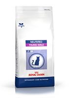 Royal Canin Neutered Young Male сухой корм для молодых кастрированных котов с момента операции до 7-ми лет
