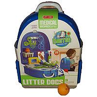 Игрушечный набор доктора в рюкзаке., фото 1