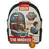 Игрушечный набор строительных инструментов в рюкзаке.