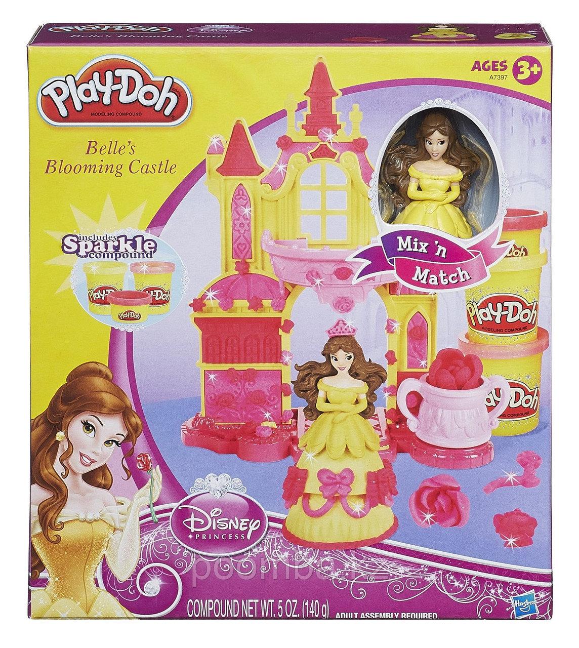 "Набор пластилина Play-Doh""Замок Белль"""