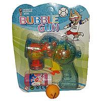 Мыльные пузыри, пистолет.
