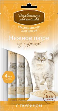 "Лакомство ""Деревенские лакомства"" для кошек (Курица)"