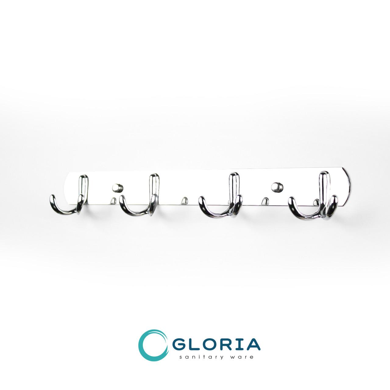 Крючок мебельный GL104 (хром)