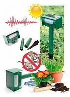 Прибор для отпугивания животных ультразвуковой на солнечной батарее