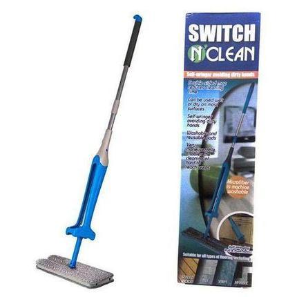 Швабра SWITCH'n'CLEAN 3-в-1 с механизмом отжима, фото 2