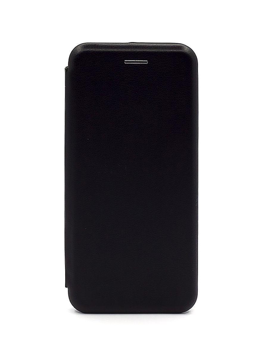 Кожаный книжка-чехол Open case для Samsung Galaxy A20s (Черный)