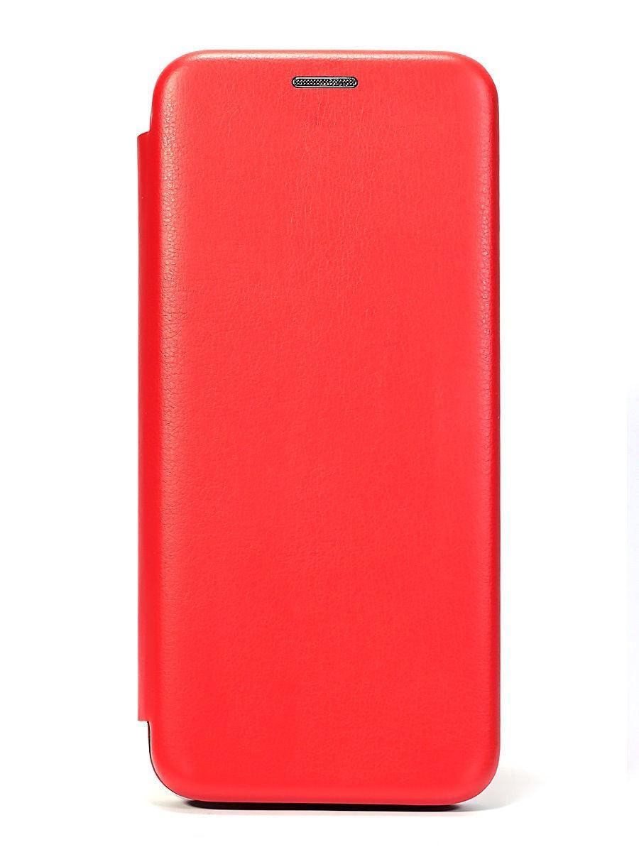 Кожаный книжка-чехол Open case для Xiaomi Redmi 8A (Красный)