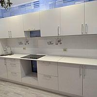 Белая кухня. На заказ. 3.6 м.