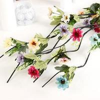 Декор тинги 'Пышные цветочки' 150 см (фасовка 5 шт, цена за 1шт) микс (комплект из 5 шт.)