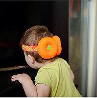 Защита  для головы оранжевая