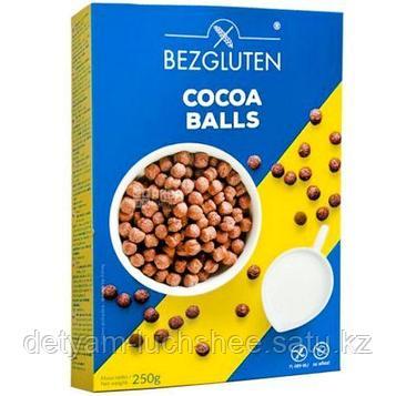Безглютеновые шарики с какао для завтрака 250 г., безглютеновые Bezgluten