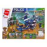 Конструктор Полицейский патруль «Вертолет», 4 минифигуры и 402 детали, фото 2