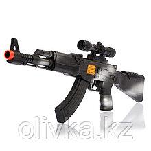 Автомат-трещотка АК-47, цвета МИКС