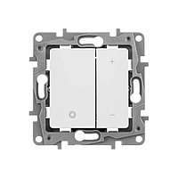 Etika Светорегулятор кнопочный без нейтрали, 400 Вт, Белый, фото 1