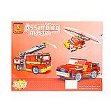 Конструктор «Пожарная команда», 3 варианта сборки, 832 детали, фото 2