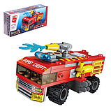 Конструктор Пожарная бригада «Транспорт», 8 видов, МИКС, фото 7