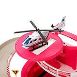 Парковка «Скорая помощь», с 1 металлической машиной и вертолётом, фото 2