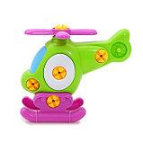 Конструктор для малышей «Вертолётик», цвета МИКС, фото 2
