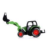 Трактор металлический «Фермер», инерционный, МИКС, фото 2