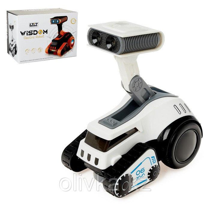 Робот «Стеллар», световые и звуковые эффекты, работает от батареек, цвета МИКС