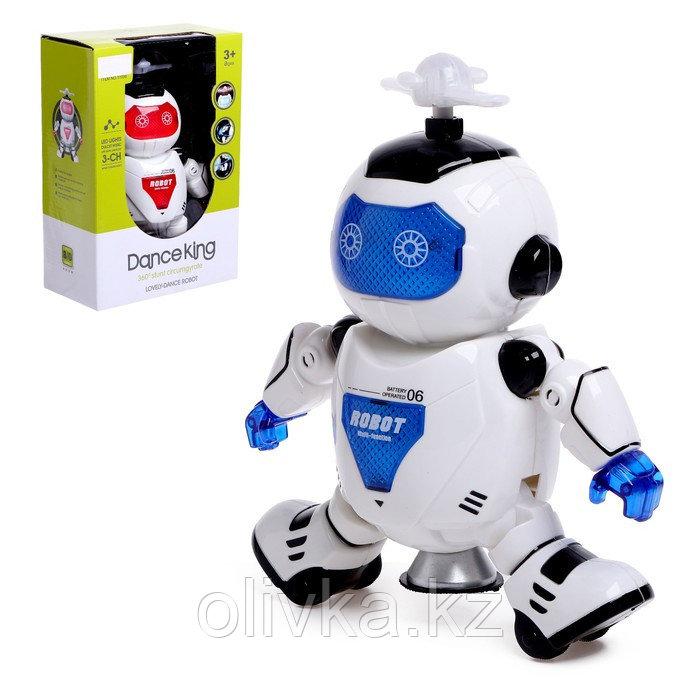 Робот «Космический герой», работает от батареек, световые и звуковые эффекты, цвета МИКС