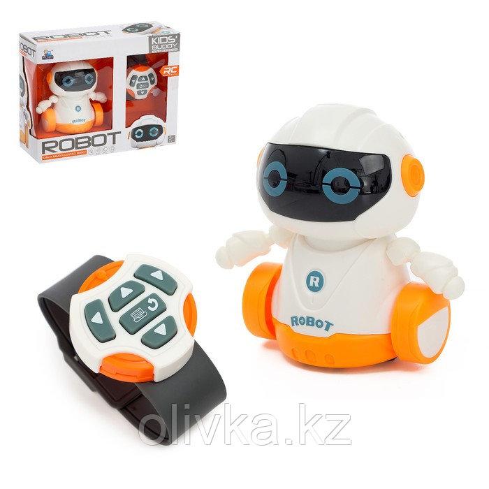 Робот радиоуправляемый «Глазастик», световые эффекты, работает от батареек