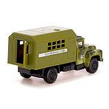Грузовик металлический «Фургон», 1:52, инерция, фото 4