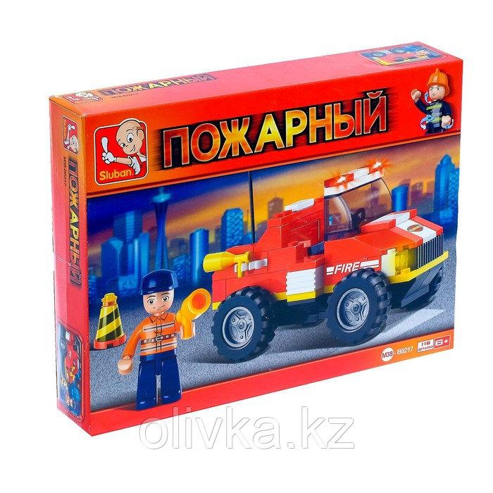 Конструктор Пожарные спасатели «Грузовик», 118 деталей