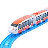 Железная дорога «Экспресс», работает от батареек, длина пути 7,57 м, световые и звуковые эффекты, фото 3