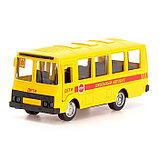 Автобус металлический «Спецслужбы», масштаб 1:52, инерция, МИКС, фото 6