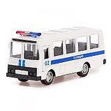 Автобус металлический «Спецслужбы», масштаб 1:52, инерция, МИКС, фото 8