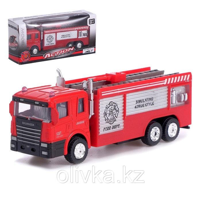 Машина металлическая «Пожарная служба», инерция, МИКС