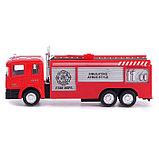 Машина металлическая «Пожарная служба», инерция, МИКС, фото 2