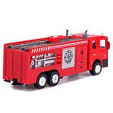 Машина металлическая «Пожарная служба», инерция, МИКС, фото 3