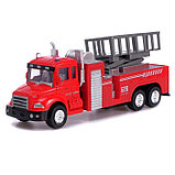 Машина металлическая «Пожарная служба», инерция, МИКС, фото 4