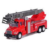 Машина металлическая «Пожарная служба», инерция, МИКС, фото 7