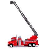 Машина металлическая «Пожарная служба», инерция, МИКС, фото 8