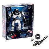 Робот интерактивный радиоуправляемый «Плуто», световые и звуковые эффекты, цвет белый, фото 5