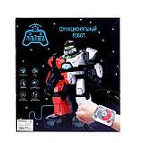 Робот интерактивный радиоуправляемый «Плуто», световые и звуковые эффекты, цвет белый, фото 6