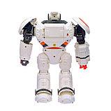 Робот интерактивный радиоуправляемый CRAZON с аккумулятором, цвет оранжевый, фото 3