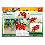 Конструктор Диноленд «Сражение на динозавре», 70 деталей, фото 2