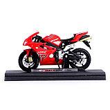 Мотоцикл металлический «Супер байк», масштаб 1:16, МИКС, фото 2